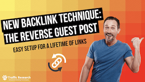 New Backlink Technique - The Reverse Guest Post