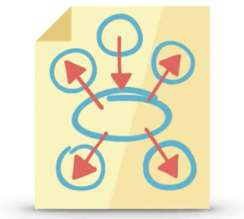 illustration of spammy links