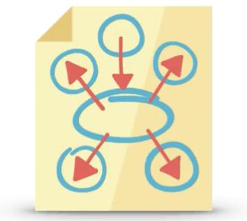 illustration of spammy links
