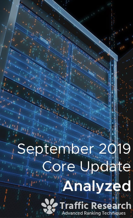 Google September Core Algorithm Update 2019
