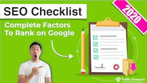Google SEO Checklist